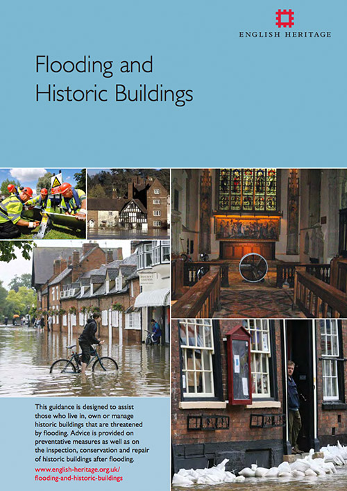 English Heritage - Flooding and Historic Buildings Information