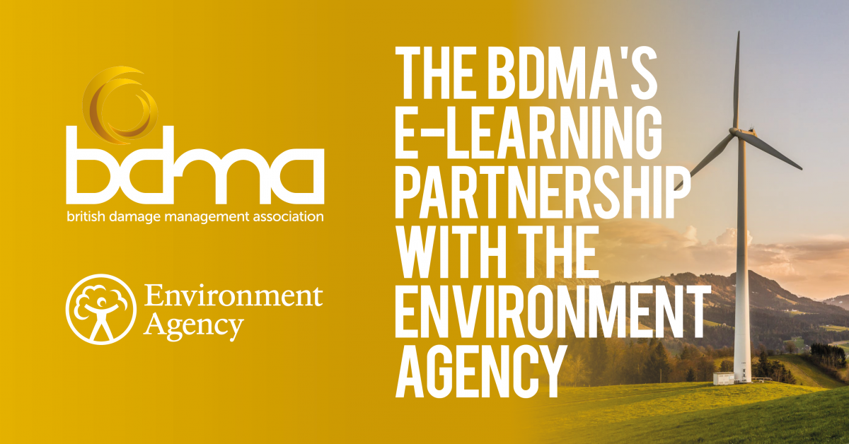 The BDMA's e-Learning Partnership with the Environment Agency - The BDMA